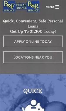 screenshot of bnffinance.com
